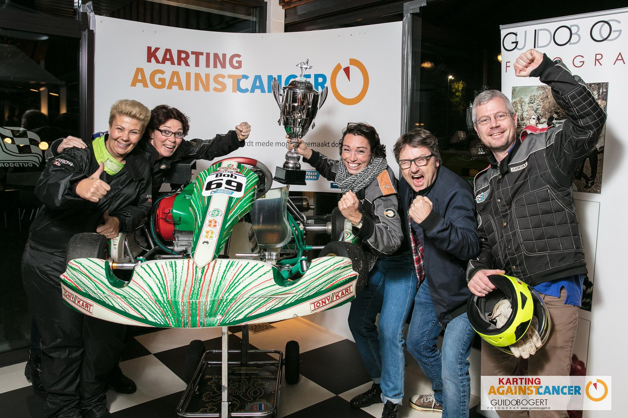 Karting against cancer