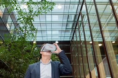 Kijkje achter de schermen bij virtuele werkelijkheid
